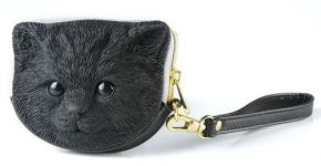 Сумка 3d tuna kitten black + gold puller Adamo