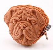 Сумка 3d bull dog light brown Adamo