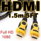 1.5M Премиум HDMI Cable Gold v1.4 3D High Speed 1080P для HDTV PS3 DVD