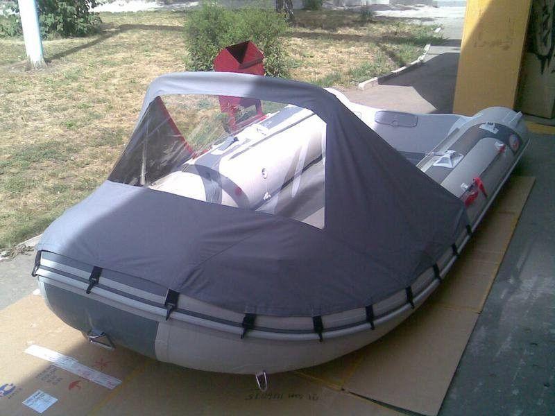 Носовой тент для пвх лодки