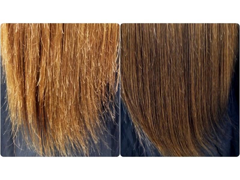 Убрать секущиеся волосы по всей длине в домашних условиях 559