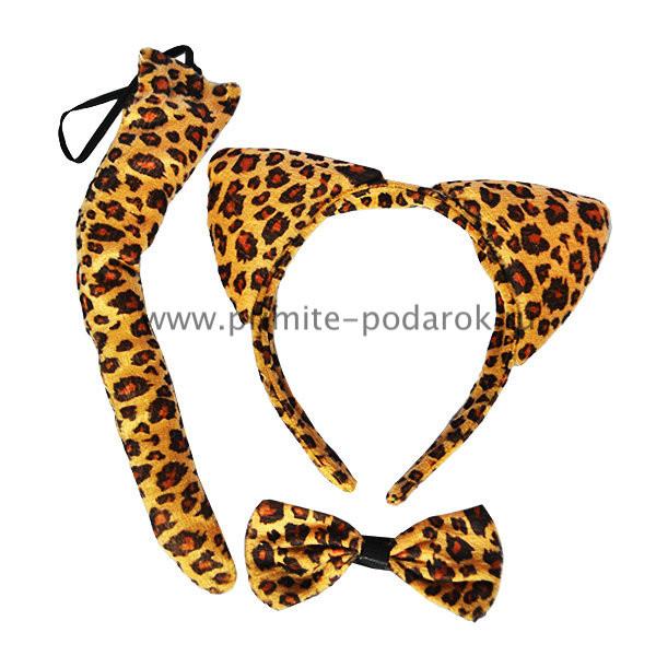 Уши леопарда своими руками 66