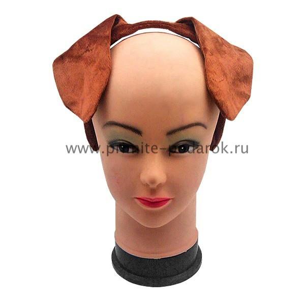 Собачьи уши на ободке своими руками