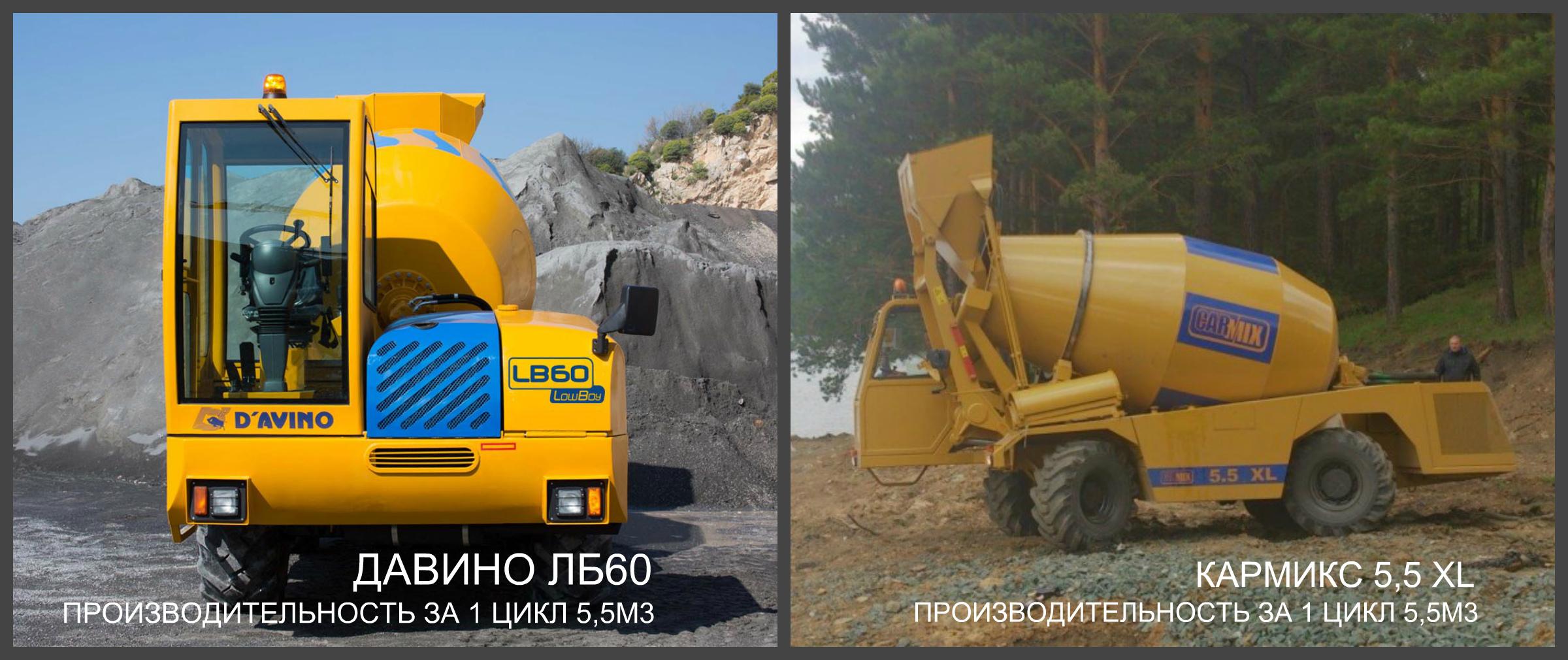 DAVINO VS CARMIX сравнение бетонных заводов кармикс и давино